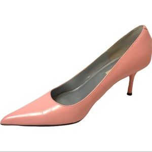 Steve Madden Classie Pink Leather Pumps